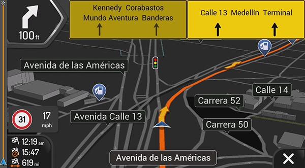 South America igo maps download