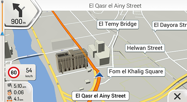 egypt igo maps update