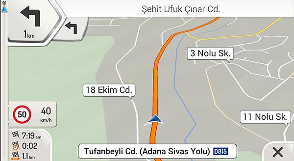 igo maps turkey 2020